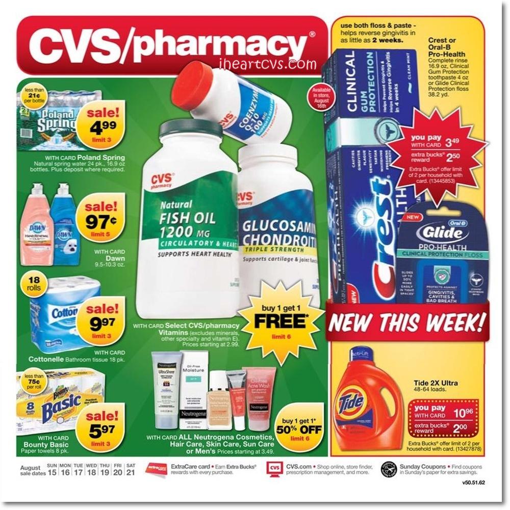 I Heart Cvs Ads 08 15 08 21 View advance cvs/pharmacy ads and deals. i heart cvs ads 08 15 08 21