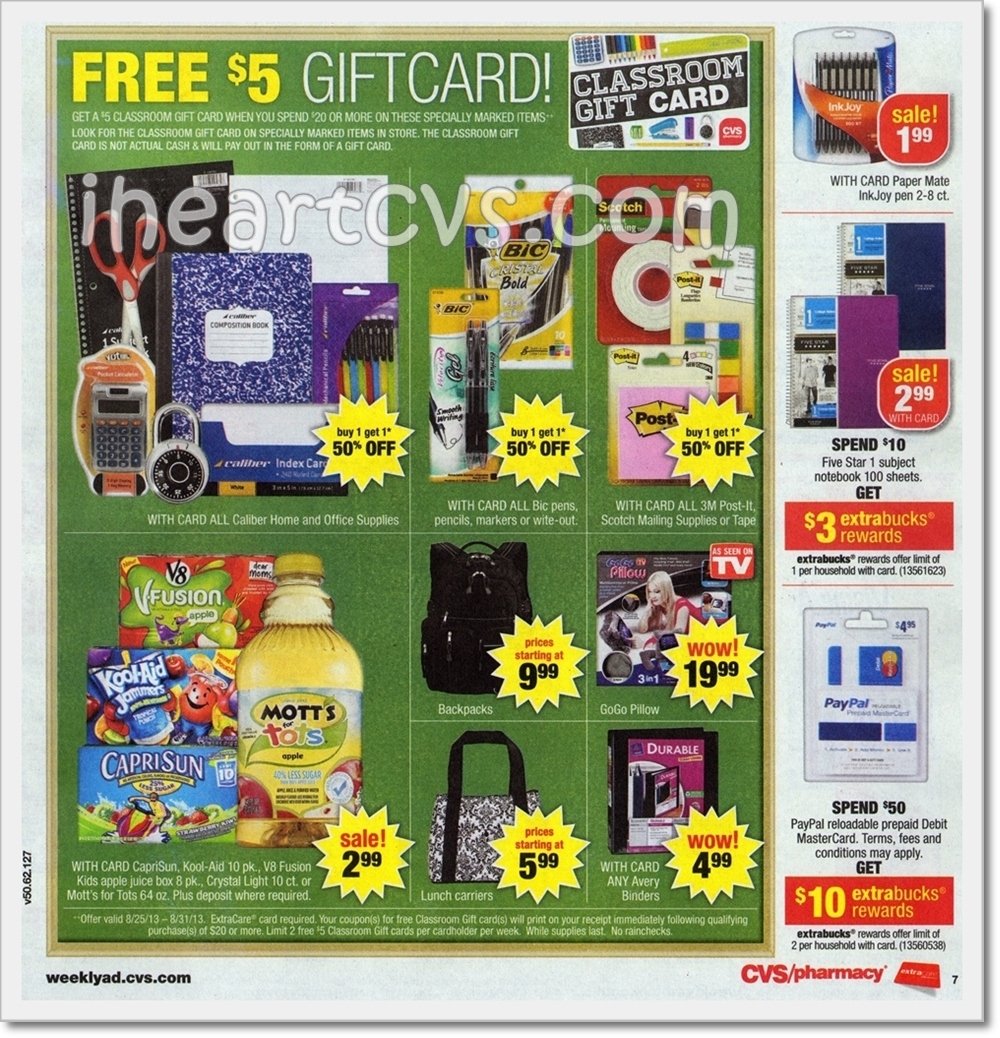 i heart cvs ads  08  25  31