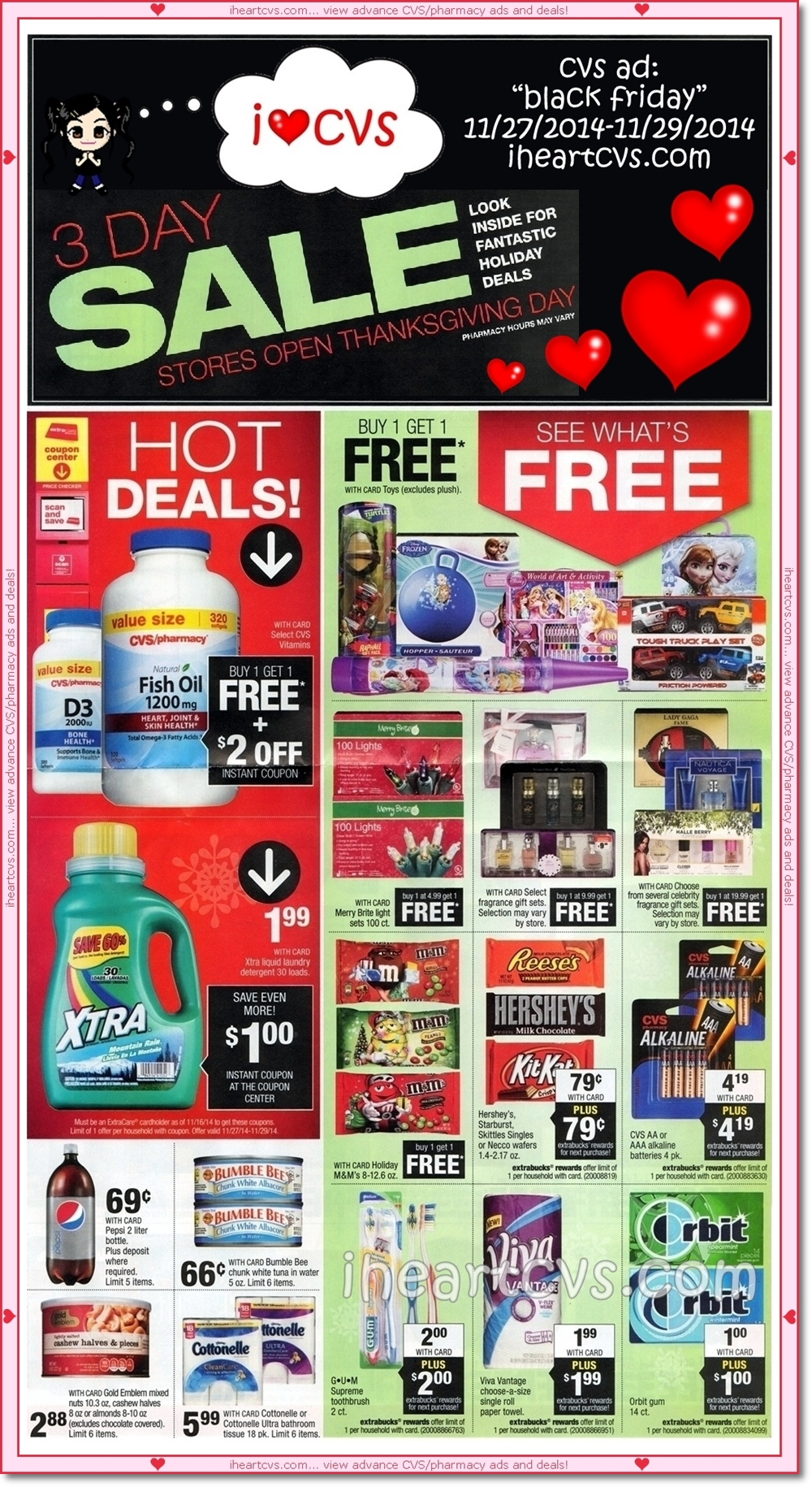 I Heart Cvs Ads 11 27 11 29 Black Friday Part Two Other names ヒロ hiro_(telecaster52) telecaster52 hiro_chumo. i heart cvs ads 11 27 11 29 black friday part two