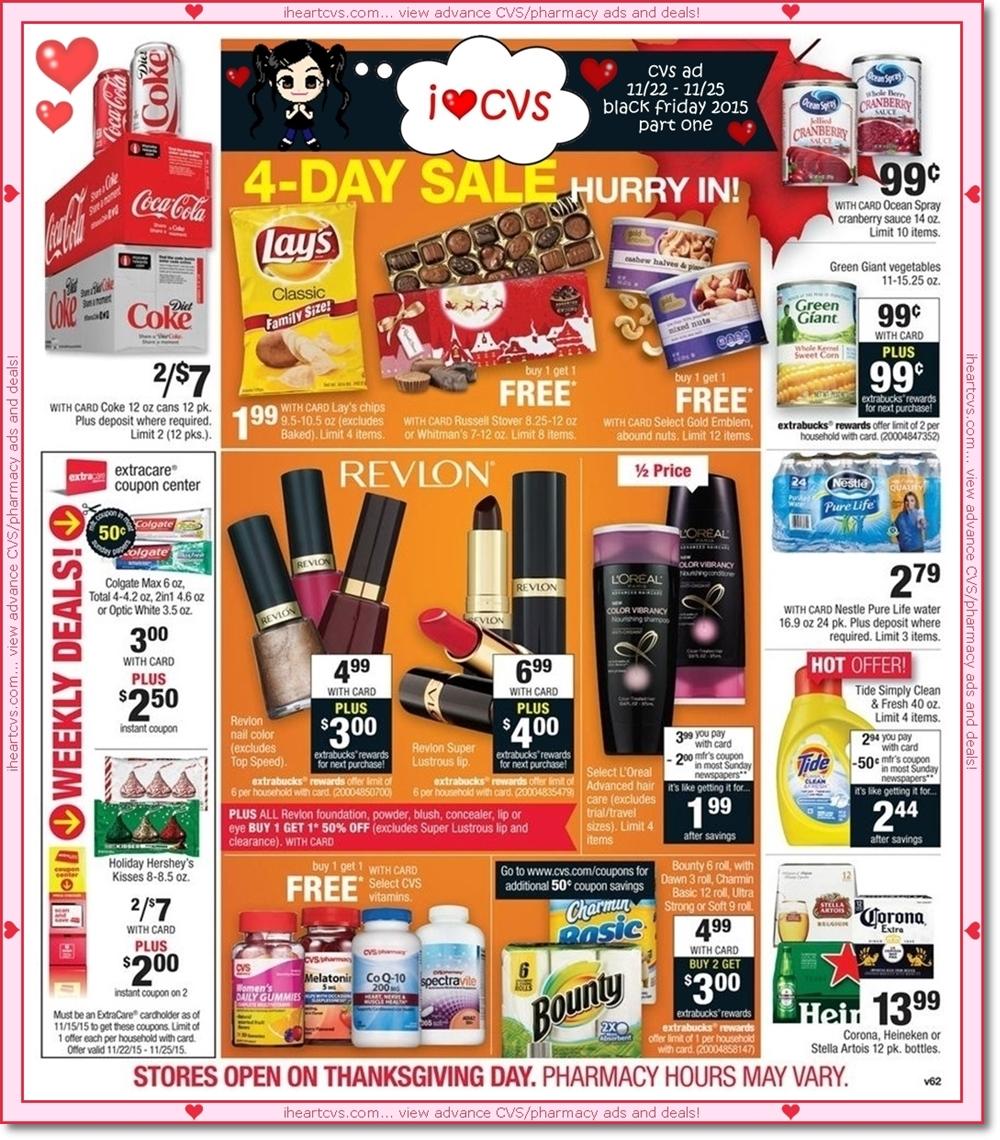 I Heart Cvs Ads 11 22 11 25 Black Friday Part One