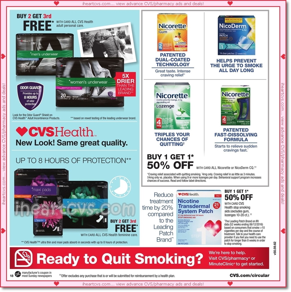 i heart cvs ads  11  13  19
