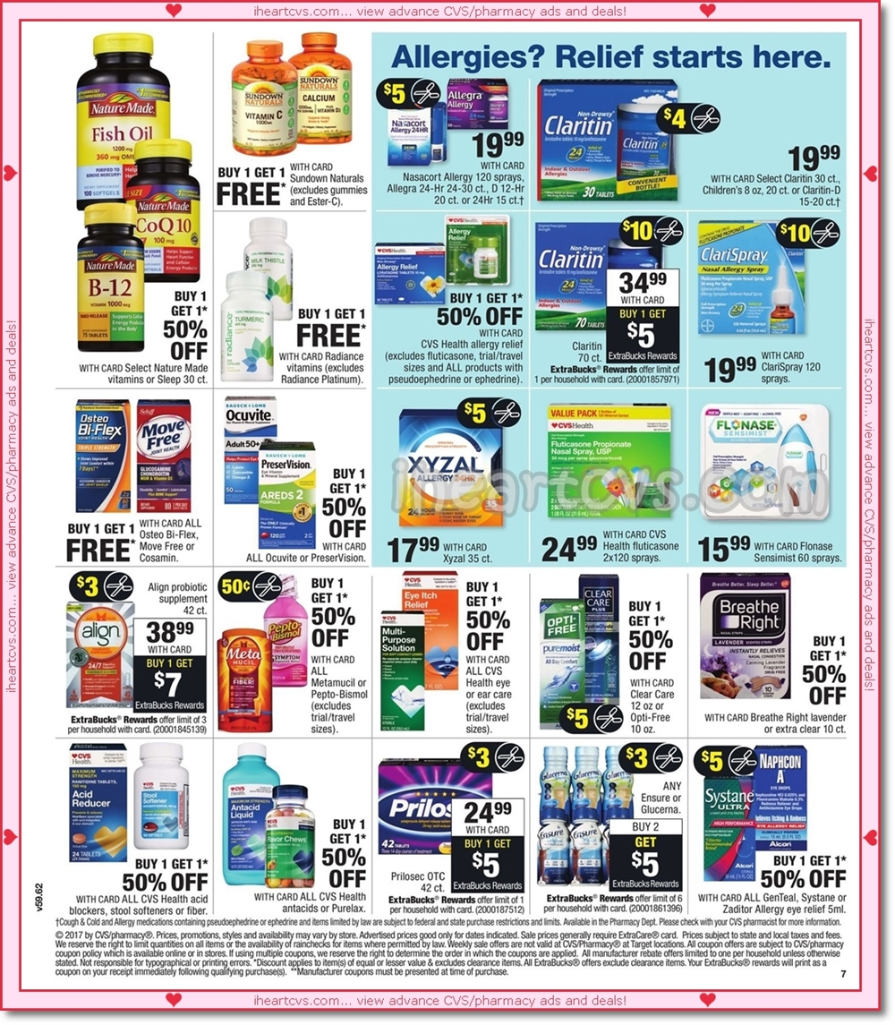 i heart cvs ads want to post these images to another web site feel to do so cvs ads are the sole property of