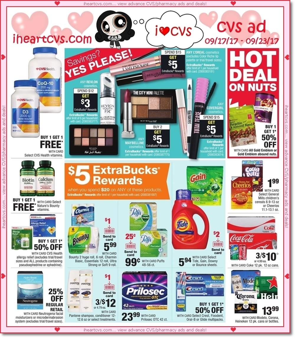 i heart cvs ads  09  17  23