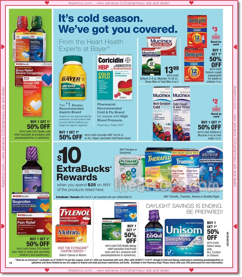 i heart cvs ads  10  29  04