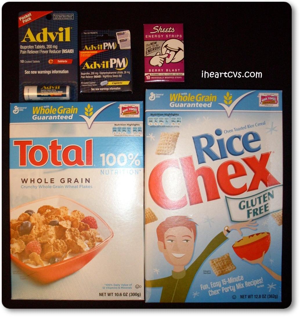 Cvs Trippin 11 25 Advil Sheets General Mills Cereal