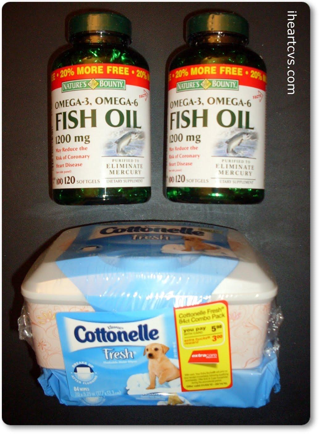 Cvs trippin 02 12 cottonelle nature 39 s bounty for Cvs fish oil