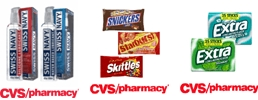 i heart cvs: cvs coupons for extra gum, skittles/starburst