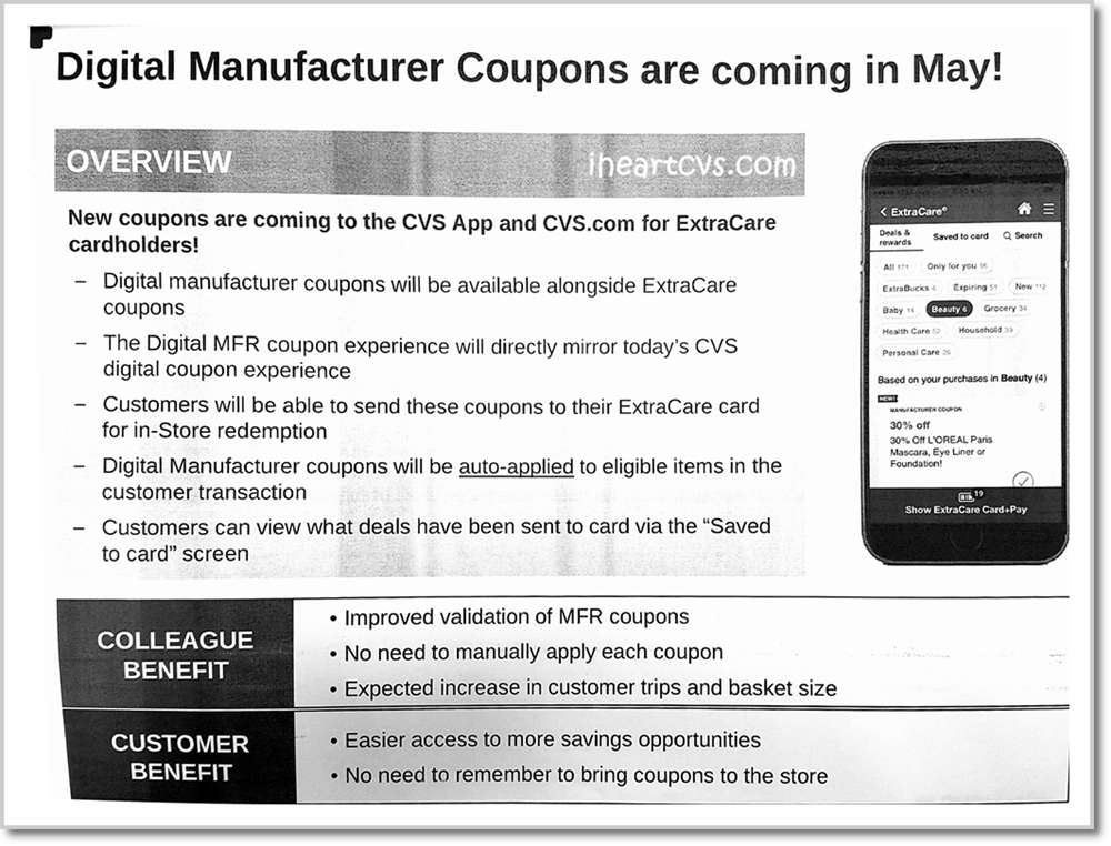 i heart cvs  digital manufacturer coupons