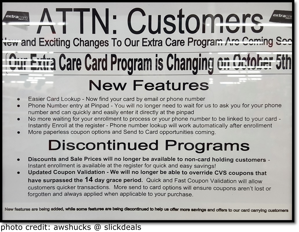 i heart cvs  extracare changes  u0026 glitches 10  2015