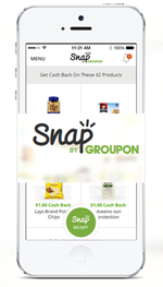 snap by groupon app