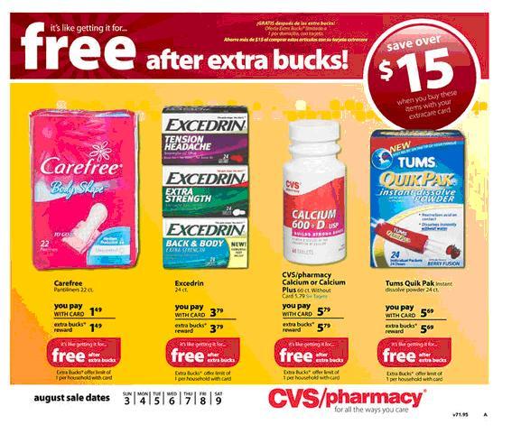 i heart cvs: 08/03 - 08/09 weekly ecb deals