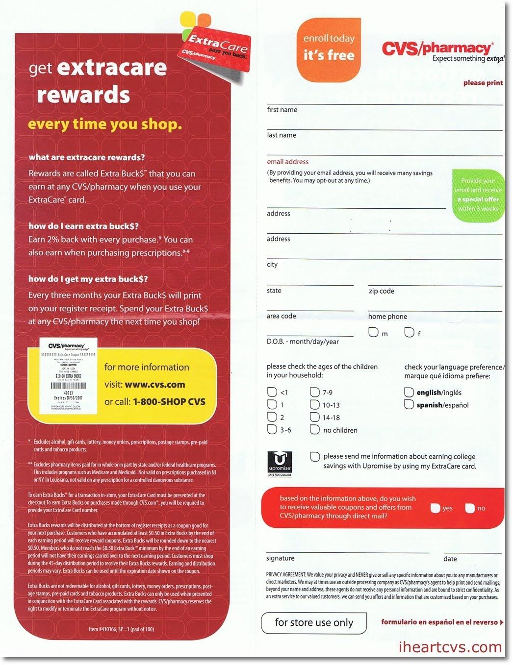 How the CVS Extra Care Card Helps You Save Money